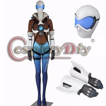 Cosplaydiy Role Tracer Cosplay Costume Blue Version Adult Women Game Cosplay Outfit For Halloween Carnival Custom Made