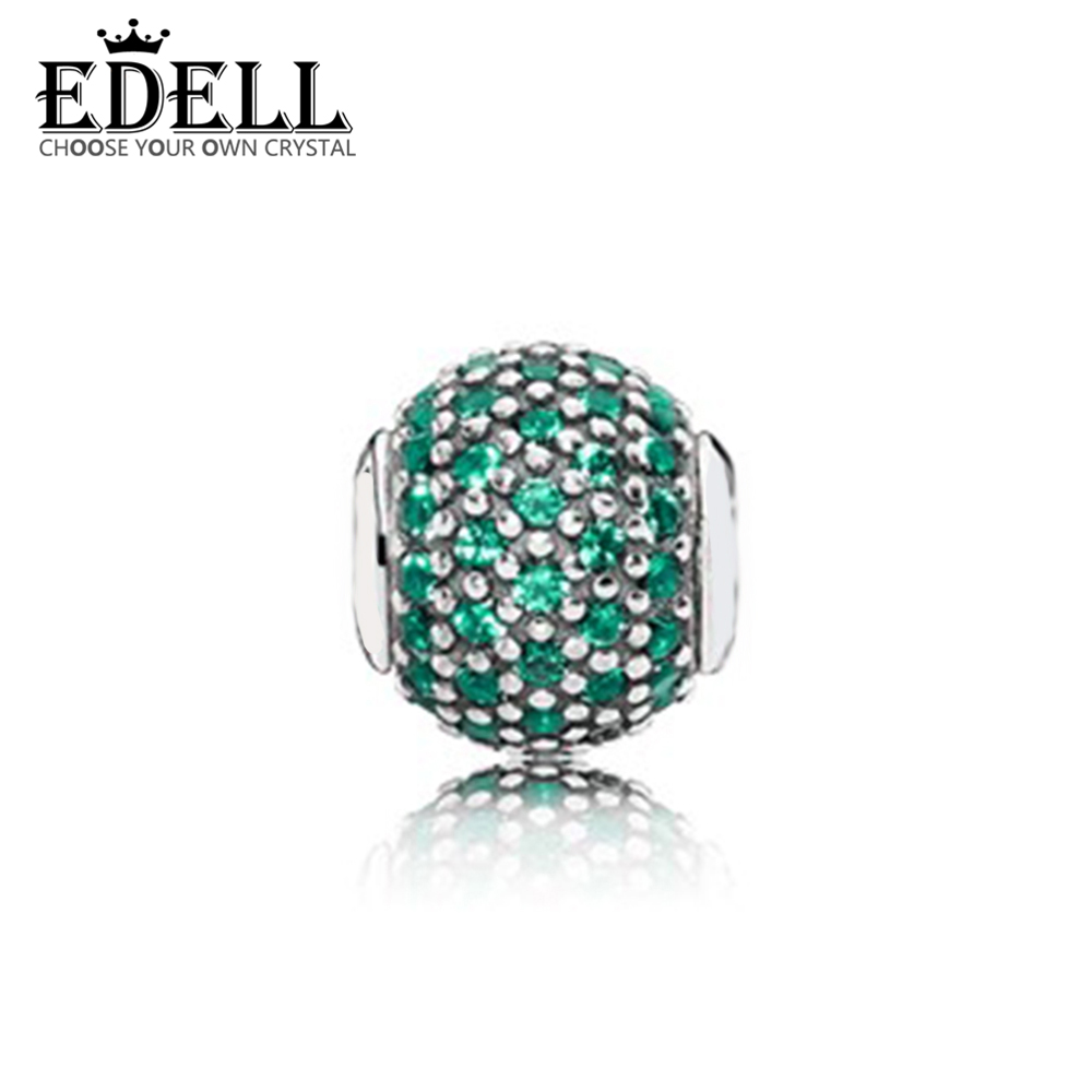 EDELL 100% 925 Sterling Silver 1:1 Genuine 796061NGC PROSPERITY COLLECTION Charm E Series Original Women Wedding Vintage Jewelry