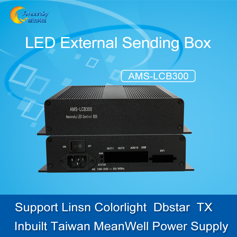 universal Led control system external sending box support Linsn colorlight control carduniversal Led control system external sending box support Linsn colorlight control card