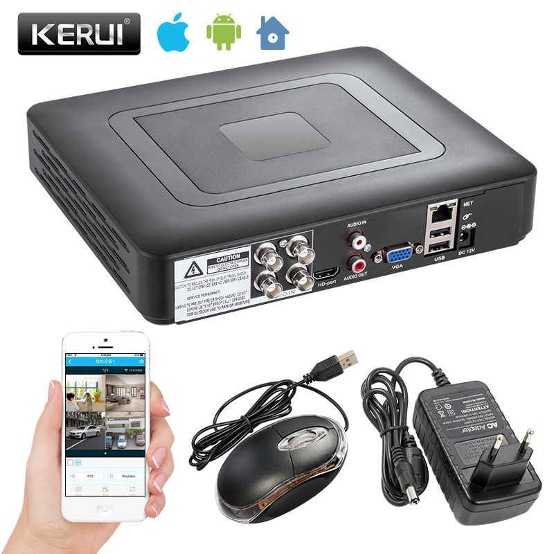 Security Camera System 4 /8 Channel DVR 1080N AHD Home Surveillance System for 1080N CCTV DVR Kit Security Camera VGA HDMI H.264
