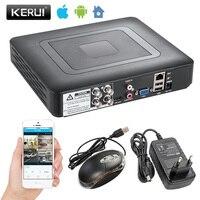 Security Camera System 4 8 Channel DVR 1080N AHD Home Surveillance System For 1080N CCTV DVR