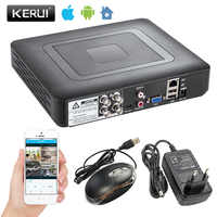Security Camera System 4CH 8CH DVR 1080N AHD Home Surveillance System for 1080N CCTV DVR Kit Security Camera VGA HDMI H.264