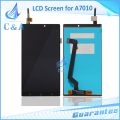5.5 Inch Repair Parts For Lenovo K4 NOTE A7010 LCD Screen Display With Touch Digitizer Assembly 1 Piece Free Shipping