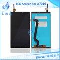 5.5 polegada de peças de reparo para lenovo k4 note a7010 screen display lcd com digitador assembléia toque 1 peça frete grátis