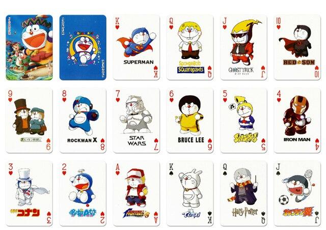 New A Deck Poker Japanese Anime Manga Cartoon Series Doraemon Playing Card