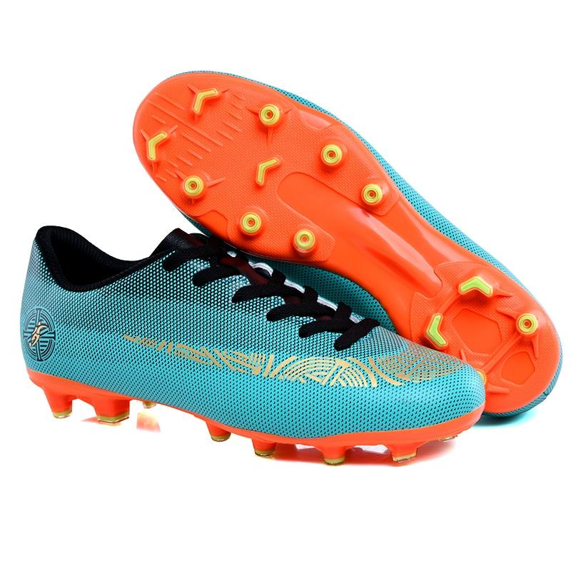 new arrivals 29cd0 66f52 US $21.84 5% OFF|Original Men Football Boots Cleats Training Long Spikes  Kids Phantom Sneaker Sport Hypervenom Ace 16.3 Superfly Soccer Shoes-in ...