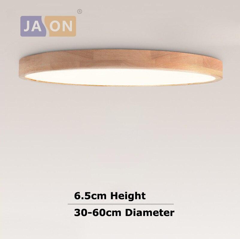 LED Modern Wood Iron Acryl Round 6.5cm Thin LED Lamp.LED Light.Ceiling Lights.LED Ceiling Light. Ceiling Lamp For Foyer