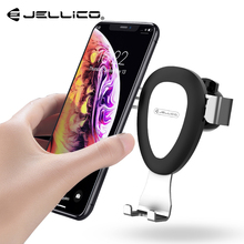 Jellico Car Phone Holder for iPhone X 8 7 Gravity Air Vent Mount Holder