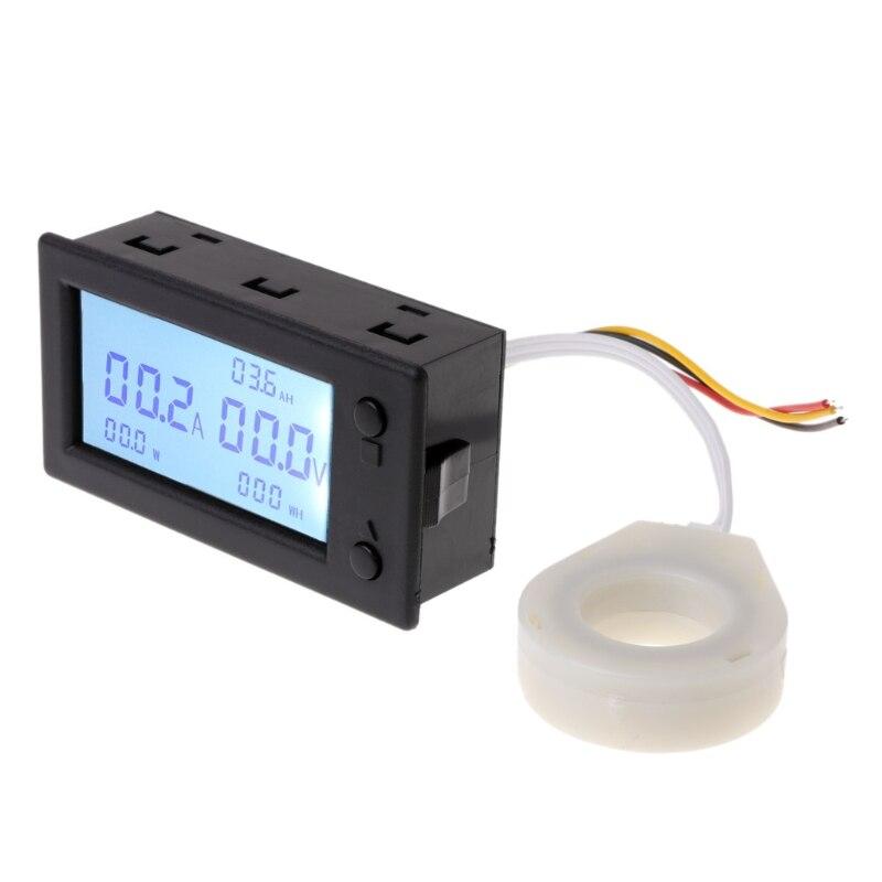 DC 300 V 100A 200A 400A digital voltímetro amperímetro capacidad de la batería coulómetro electricidad medidor de vatios-hora con salón sensor