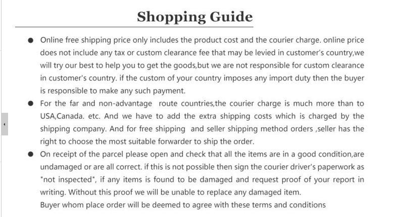 Shopping Guide