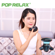 POP RELAX Mini electric vibrator head neck face massager wireless vibration body relaxing vibrating massage cellulite massager