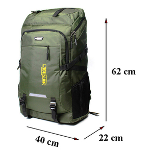 Image 2 - 80L unisex men backpack travel pack sports bag pack waterproof Outdoor Mountaineering Hiking Climbing Camping backpack for male