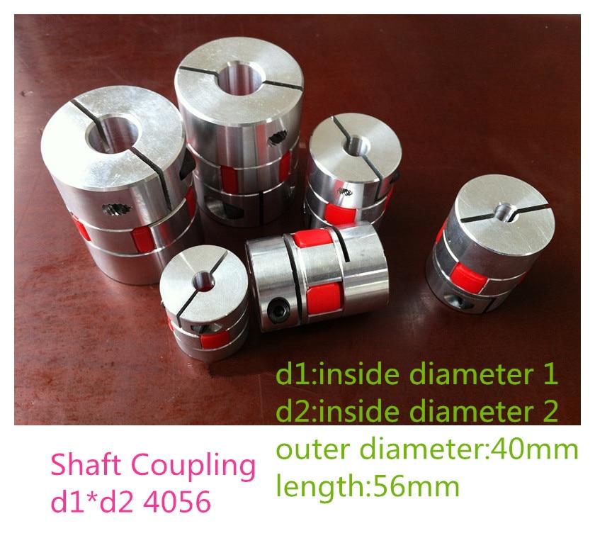 все цены на 1PCS YT1445 Aluminum Alloy Elastic Coupling Servo Motor Motor Coupling Shaft Coupling Plum Coupling BF d1*d2 4056 онлайн