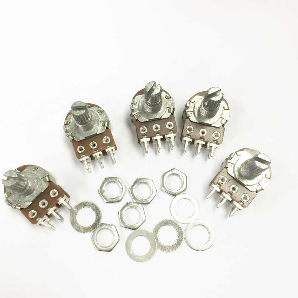 6cs-r068 Wirewound resistencias 7 vatios puntuados con 5/% x2