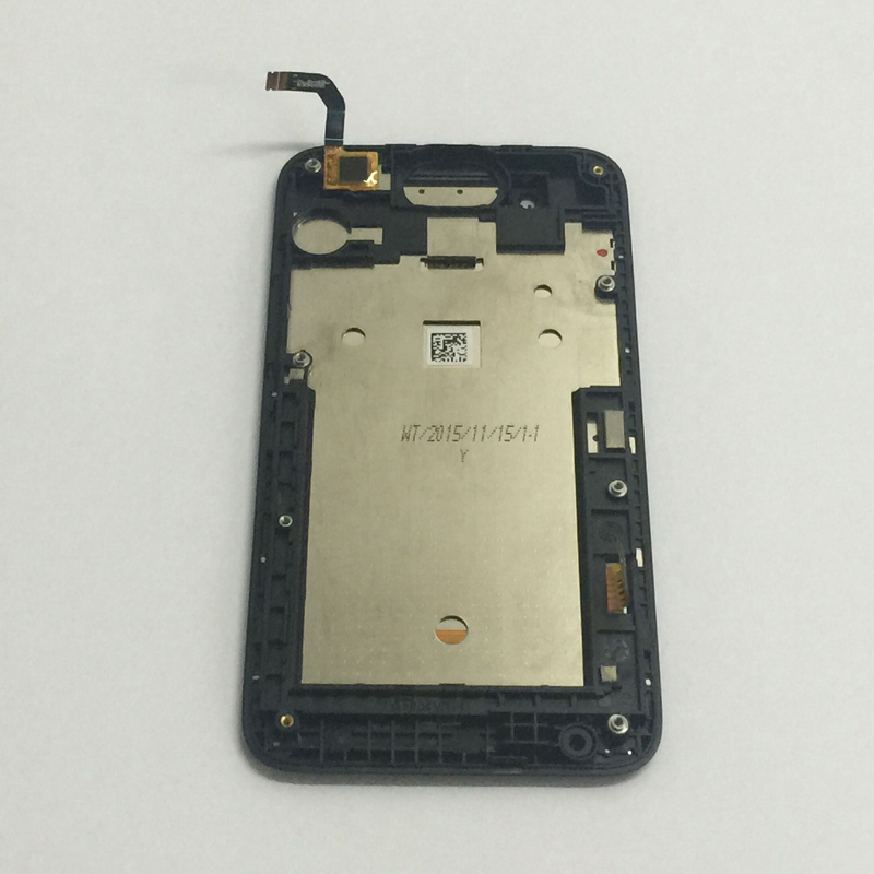 For HTC Desire 210 Touch Screen Digitizer Sensor Glass + LCD Display Panel Monitor Module Assembly with Frame Bezel