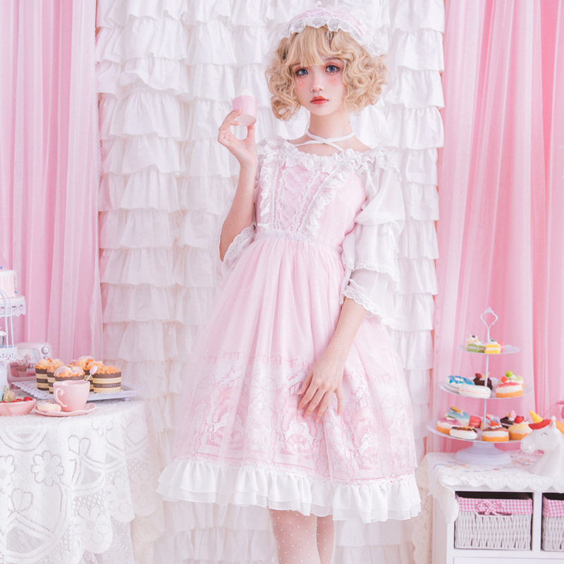 Lolita robe Lolita fille Lolita jupe horizon robe - 5