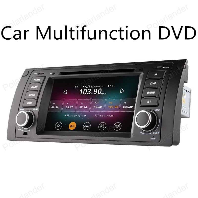 7in Quad Core car DVD font b Android b font 4 4 for BMW 5 Series