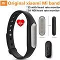 Original xiaomi mi banda 1 s 1a pulseiras inteligente miband ativação de pulso heart rate monitor de fitness rastreador fitbit para android
