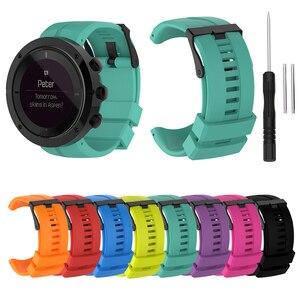 Силиконовый ремешок Essidi для наручных часов Suunto KAILASH, резиновый ремешок для браслетов Suunto KAILASH