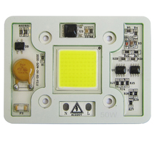 1pcs Super Bright 50W 6000LM Cool Pure White 6000k – 6500k Warm White 3000k 220V COB LED Emitting Diode Bulb Light Spotlight