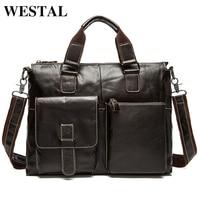 Guaranteed 100 Natural Genuine Leather Men Messenger Briefcase Bags Brluggage Travel Bags Men S Shoulder Bags