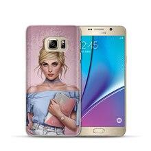цена на For Samsung Galaxy a7 2018 Case Luxury Modern Princess Tinker Bell Cinderella Snow White Etui For Samsung A6 A8 A5 A9 2017 Coque