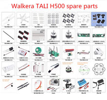 Walkera TALI H500 RC Quadcopter spare parts blade motor ESC Flight controller receiver Power Board Blade guard Screw cable etc(China)