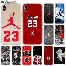 b7f5dc4c5224 BiNFUL Basketball God Michael Jordan for iPhone X XS Max XR 6 6S 7 8 Plus 5  5S SE