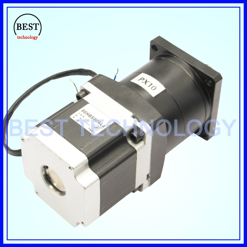 Nema23 Motor Planetary Reduction Ratio 1:10, 1:16 planet gearbox 57 x 76 mm motor speed reducer, High Torque high quality !! gearbox 1 6 nema34 stepper motor planetary reduction ratio 6 1 planet gearbox 86 motor speed reducer high torque high quality