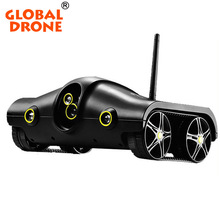 Global Drone Electric Kid RC Tank Wifi Android And Apple Phone Control 1 18 Scale Remote Tanks WI-FI Rover Tank With Camera