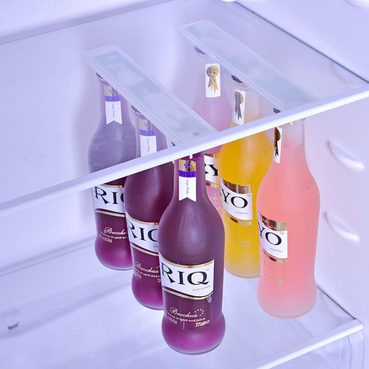 Home Bottle holder bottlekeeper Refrigerator Magnet hood hanging rod lasting adsorption beer fridge magnet sucker 2pcs/set