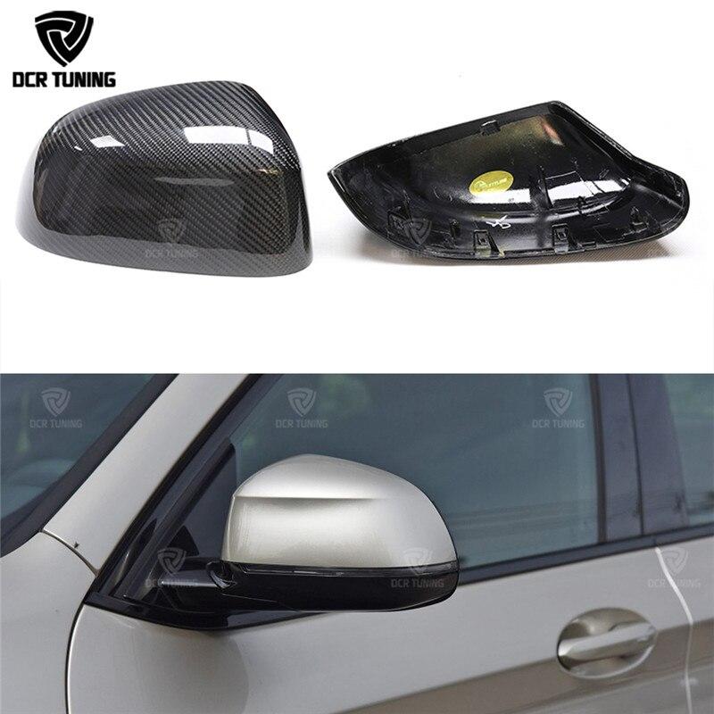 1: estilo de substituição Para os modelos BMW Nova X3 G01 1 X4 G02 X5 G05 Traseiro De Fibra de Carbono Side Capa Espelho Retrovisor M Olhar 2018-UP