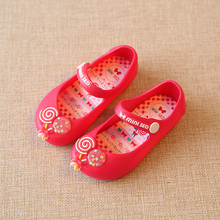 Lollipop Mini Melissa Girls Sandals MINI SED Brand Lollipop Jelly Shoes Non Slip Wear Resistant Melissa