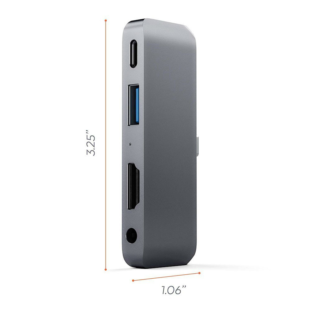 Image 4 - USB C HUB For iPad Pro 2018 Type C Audio Adapter Mobile Pro Hub with USB C PD Charging 4K HDMI USB 3.0 3.5mm Headphone Jack-in USB Hubs from Computer & Office