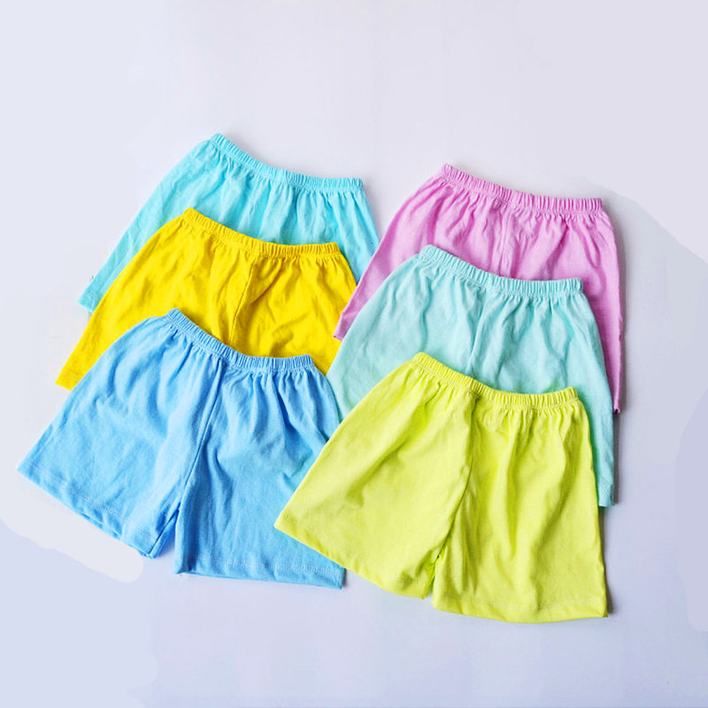 Girl Shorts Colour safety pants kids legging trousers children summer short pants girls new arrive cute shorts baby girls pants