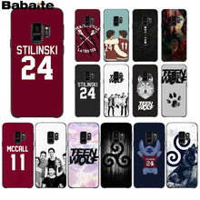 Babaite Teen Wolf Stilinski 24 McCALL 11 LAHEY 14 Phone Case Samsung S9 S9 Plus S5 S6 S6edge S6plus S7 s7edge S8 S8plus M10 20(China)