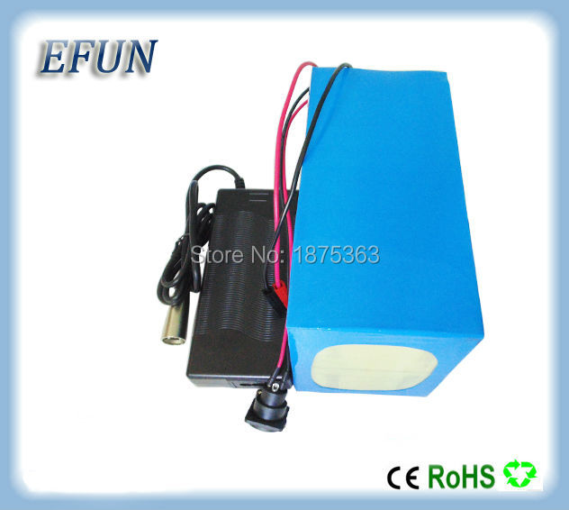 Free shipping high power 52V 10Ah PVC battery rechargeable 18650 Li-ion battery pack for fat tire bike with professional charger free shipping 50a discharge rate lithium battery 48v 50ah 18650 rechargeable li ion battery pack with 2000w bms and charger