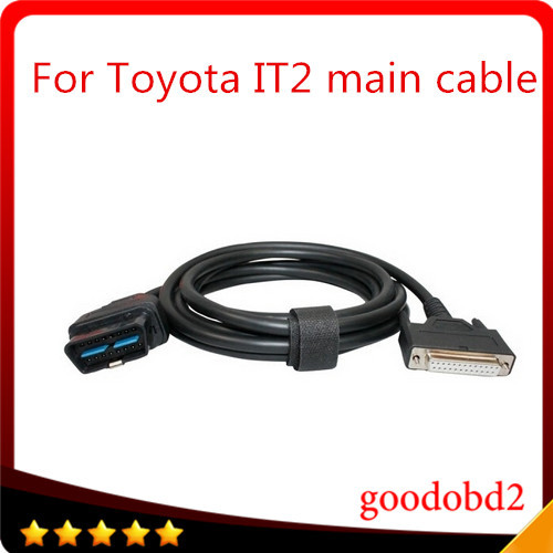 For car cable Toyota Intelligent Tester IT2  main test cable  with Suzuki Connector  diagnostic car cable 16 pin mian cable