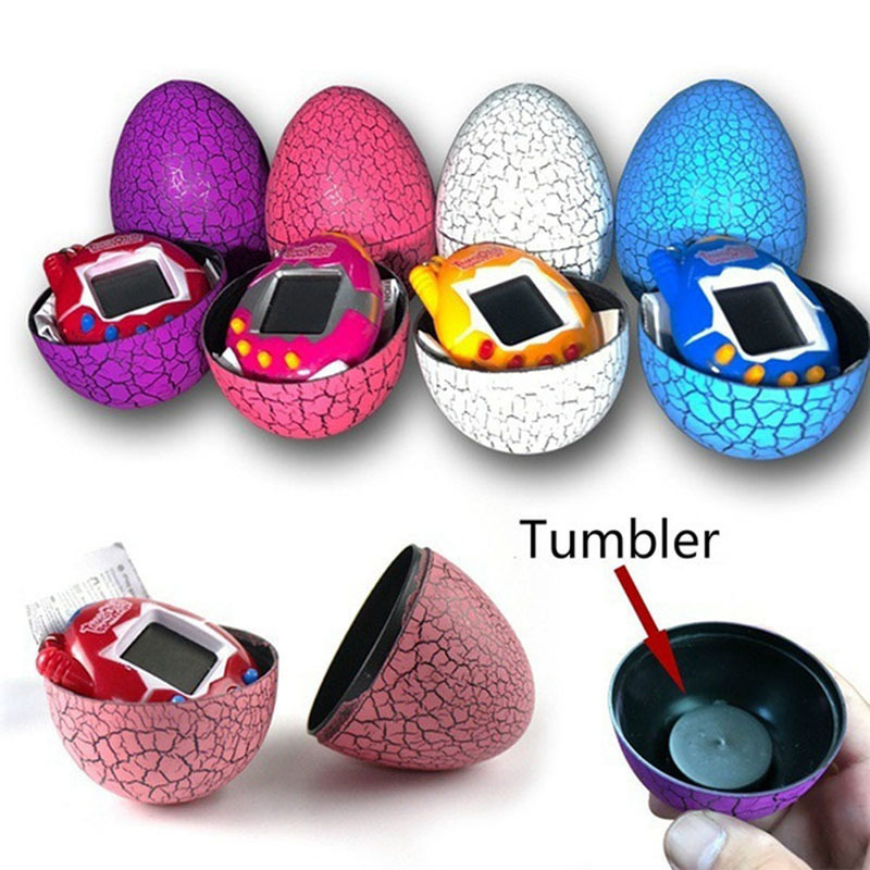 New Funny Electronic Virtual Pet Machine E-pet Dinosaur Egg Toys Cultivate Game Machine
