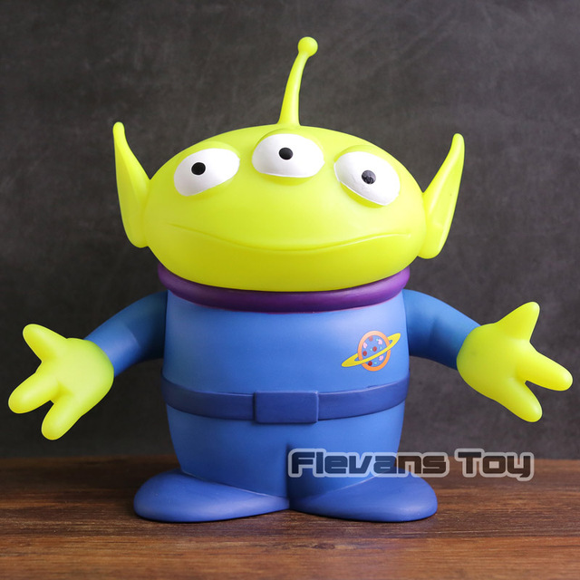 Toy Story Little Green Men Alien Piggy Bank Figure Toy