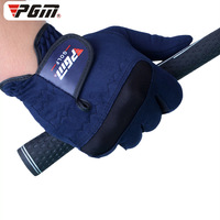 Brand PGM Golf Gloves Men Left Right Hand Gloves Super Fiber Breathable Soft Wear Resistant Golf