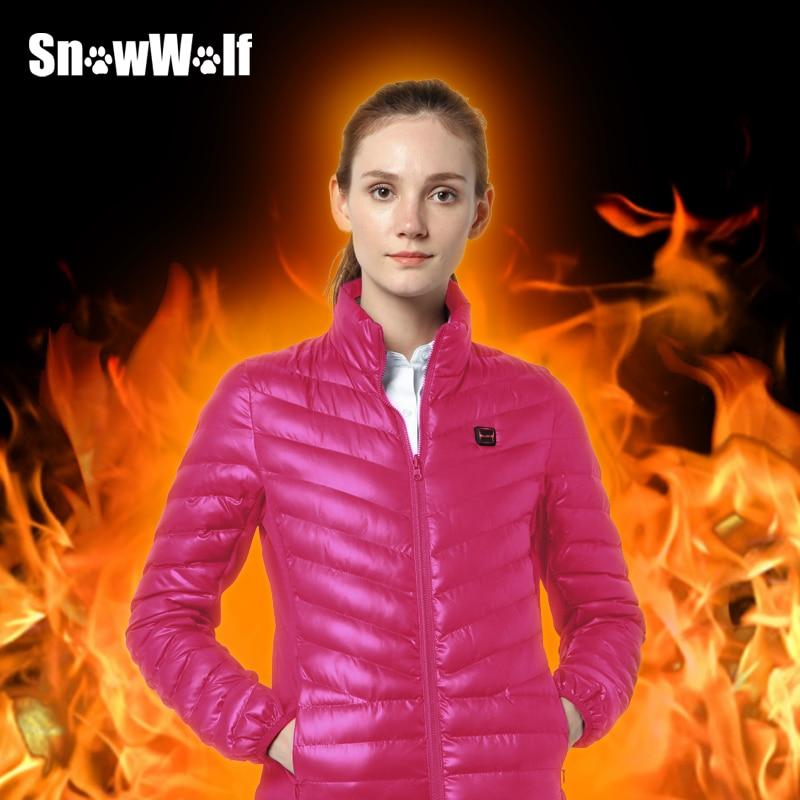 SNOWWOLF חיצוני חום אינפרא אדום חימום - בגדי ספורט ואביזרים