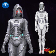 New Arrival Ant-Man and the Wasp Ghost Cosplay Costume Women Full Set John Morley For Halloween Custom Made
