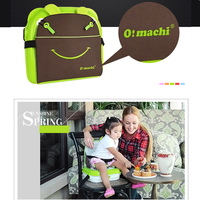 Baby Dining Chair Diaper Backpack Large Mummy Bag Waterproof Safe Belt Booster Seat Folding Travel Maternity