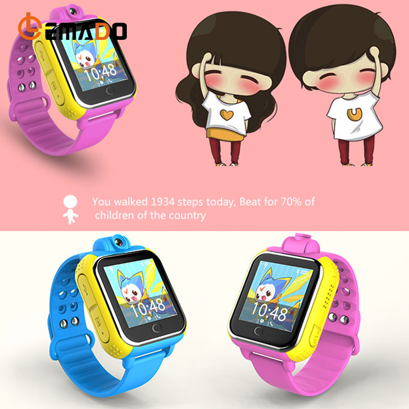LEMADO Q730 Смарт-часы детские наручные часы 3g WI-FI gps трекер ребенок учится часы с Камера для IOS телефона Android