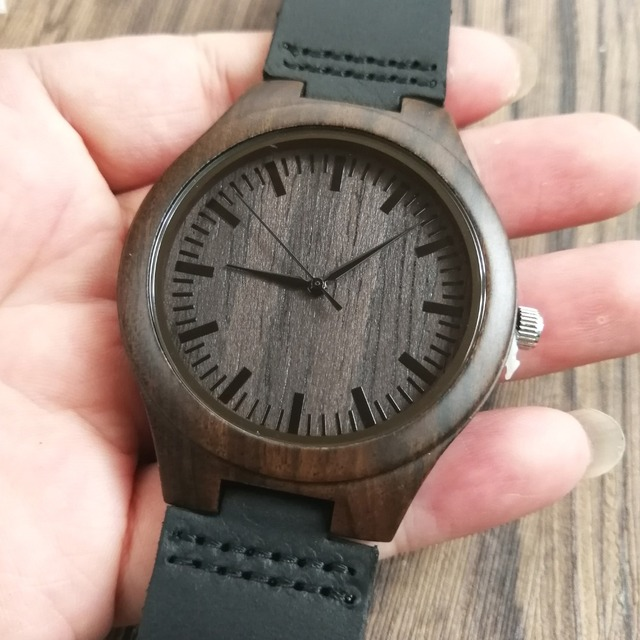TO MY BOYFRIEND I WILL FOREVER AND ALWAYS BE YOURS AND ONLY YOURS ENGRAVED WOODEN WATCH 2