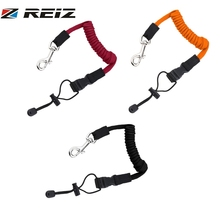 Coiled Paddle Leash For Kayak Canoe