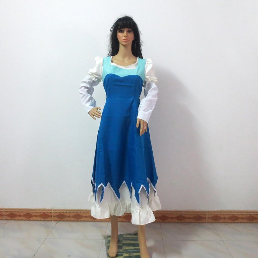 JoJo's Bizarre Adventure Erina Pendleton Cosplay Costume Halloween Uniform Outfit Customize Any Size