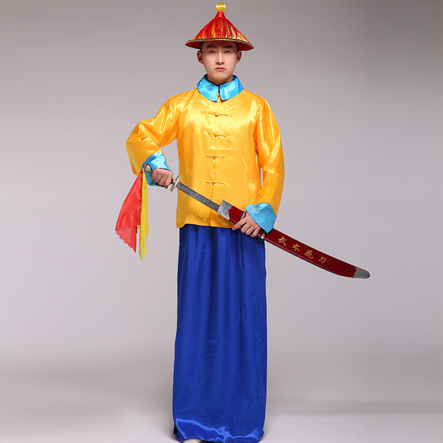 Chinese Manchu warriors costume Knights of the Qing Dynasty eunuch clothing in ancient China chevaliers de  sc 1 st  AliExpress.com & Chinese Manchu warriors costume Knights of the Qing Dynasty eunuch ...