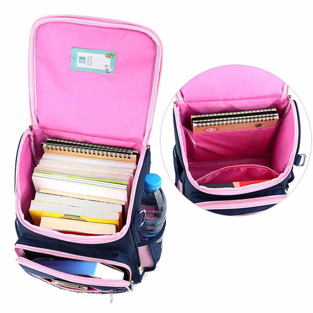 الاطفال الحقائب المدرسية الأطفال حقيبة ظهر للفتيات للماء على ظهره المدرسية الابتدائية Mochila الكتب الكبيرة والصغيرة حجم Mochila